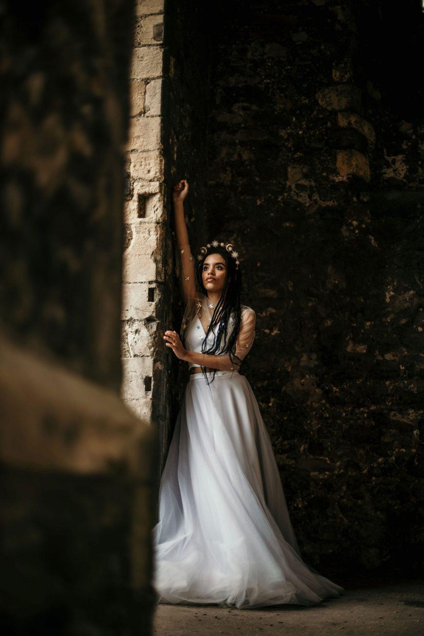 UK wedding dress